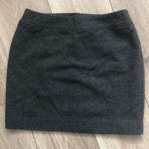 H&M wool blend mini skirt size 6